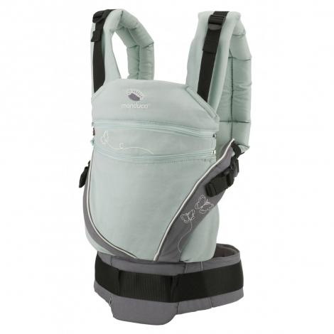Porte-bébé Baby carrier XT en coton BIO - Butterfly Mint