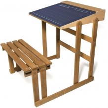 Bureau pupitre d'écolier en bois - à partir de 3 ans