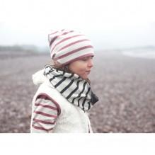Gilet sans manches réversible en coton Bio Teddy - Eskimo - Spice