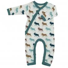 Pyjama - Combi en coton BIO avec pieds - Elan Multicolor