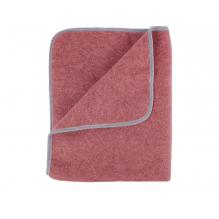 Couverture en polaire de laine - 90 x 70 cm - Vintage Red