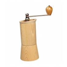 Moulin à café en bois et en acier fabriqué en Europe