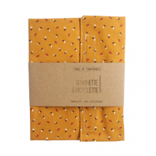 Sac à tartines - 35 x 40 cm - Moutarde
