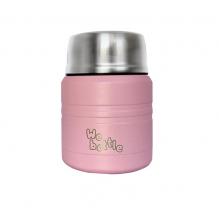 Lunchbox Isotherme en Inox - Rose Clair - 350 ml