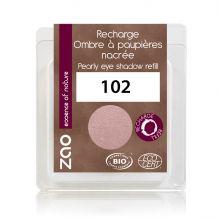 Recharge fard à paupières nacré - beige rosé - 102 - 3 g