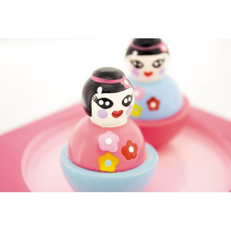Boîte à musique - poupée japonaise - à partir de 3 ans
