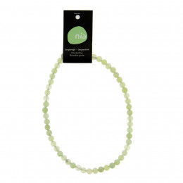 Collier perle 40 cm Serpentine
