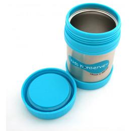 Boîte à repas isotherme en inox Azur 355 ml