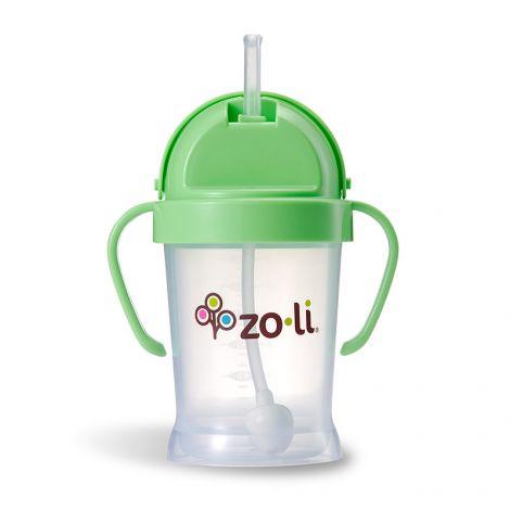 Gobelet avec paille  Sans BPA ni phtalate Vert - 180 ml