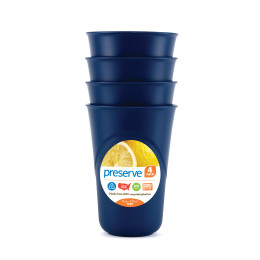 4 verres réutilisables matériaux recyclés