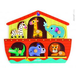 """Puzzle """"arche de Noé"""" - A partir de 18 mois"""