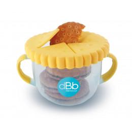 Tasse distributrice de biscuits