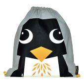"""Sac d'activité enfant en coton BIO """"Pingouin"""""""