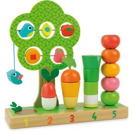 J'apprends à compter les légumes - à partir de 18 mois