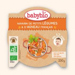 Navarin de petits légumes et d'agneau français (dès 12 mois) - 230 g