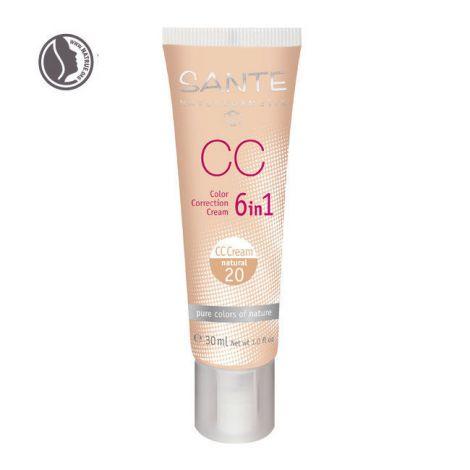 Crème correction couleur 6 en 1 natural 20