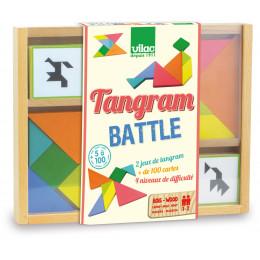 Tangram bataille - à partir de 5 ans