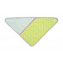 Bavoir bandana en coton BIO -  Green Tear drops