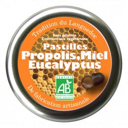 Pastilles Propolis Eucalyptus Miel 45 g