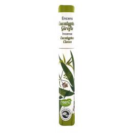 Encens végétal Eucalyptus Girofle 30 bâtons