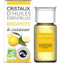 Cristaux d'huiles essentielles à cuisiner - bergamote - 10 g