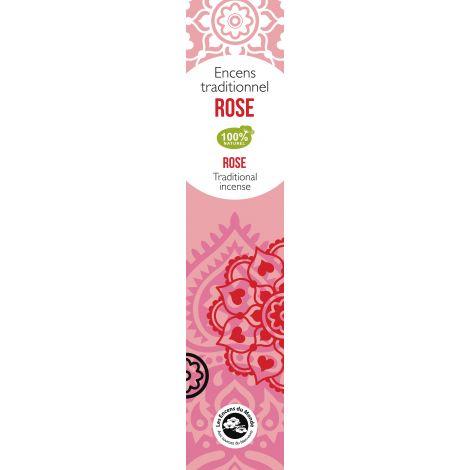 Encens traditionnel Indien Rose 20 g