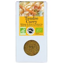 Fleurs d'épices Tendre Curry 40 g