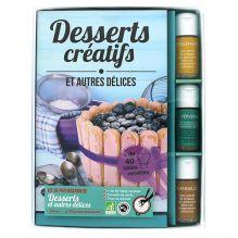 """Coffret """"Kit"""" de préparation de vos desserts créatifs et autres délices + livre"""