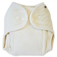 Couche lavable taille unique en coton BIO et polyester - soft écru