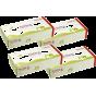 4 x Mouchoirs en papier recyclé - Boîte de 100