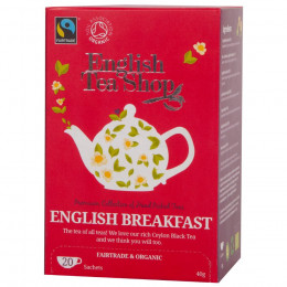 English Breakfast BIO - 20 infusettes