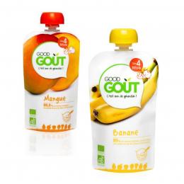 Duo exotique - mangue et banane