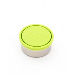 Boite ronde en inox avec couvercle pomme - 280 ml
