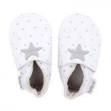 Chaussons 4324 - Blanc étoiles grises