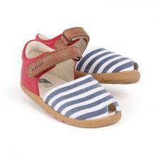 Sandales I-Walk - Twist Rouge / marine / blanc 627802