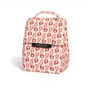 Lunch bag isotherme en coton BIO - motif verger