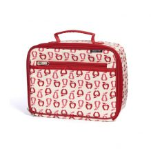 Lunch box isotherme en coton BIO - motif fruits
