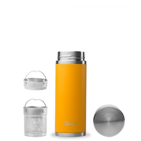 Théière nomade isotherme en inox 300 ml Orange