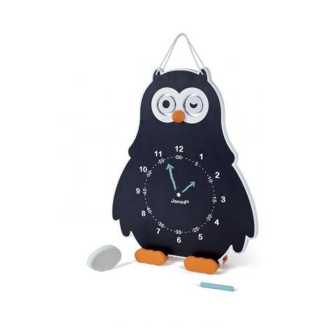 Découvre l'heure Horloge Owly Clock - à partir de 3 ans
