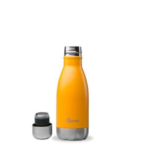 Bouteille isotherme en inox - Orange - 260 ml