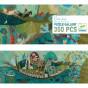 Puzzle Gallery Poetic boat - A partir de7 ans