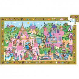 Puzzle observation Princesses - à partir de 4 ans