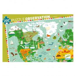 Puzzle observation Tour du monde - à partir 6 ans
