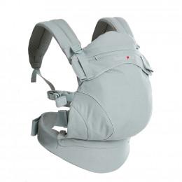 Porte-bébé physiologique préformé Flexia - Gris clair