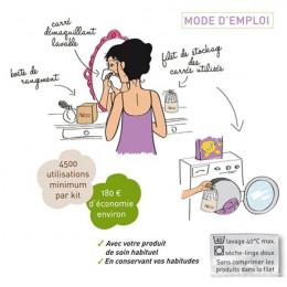 Kit Eco Belle Trousse - Edition limitée - fuschia
