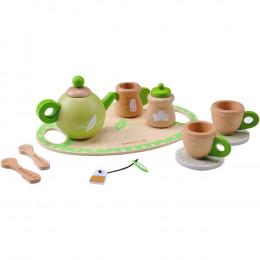 Service à thé en bois - à partir de 3 ans