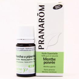 Huile essentielle de Menthe poivrée  BIO 10 ml