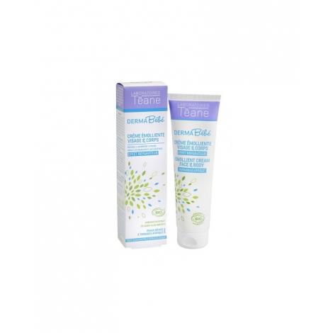 Crème émolliente visage et corps bébé - 150 ml