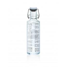 """Bouteille en verre 600 ml  """" Dico """""""