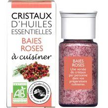 Cristaux d'huiles essentielles à cuisiner - baies roses - 18 g PEREMPTION 12/2019